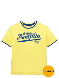 penguin-ss-logo-tee