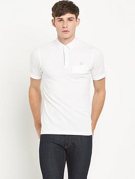 fred-perry-woven-trimnbsppolo-shirt