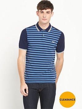 fred-perry-blue-stripe-polo