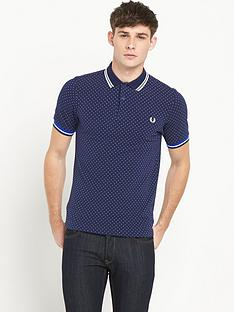 fred-perry-polka-dot-polo