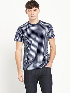 fred-perry-polka-dot-t-shirt