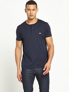lacoste-grandad-collar-t-shirt
