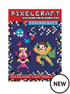 pixelcraft-superheroes