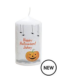 personalised-halloween-pumpkin-candle