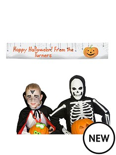 personalised-halloween-pumpkin-party-banner