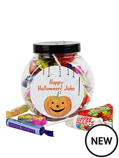 personalised-halloween-pumpkin-sweet-jar