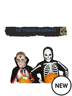 personalised-halloween-day-of-the-dead-party-banner