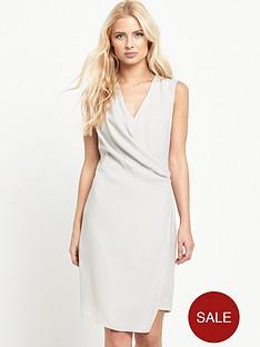 miss-selfridge-drape-front-dressnbsp