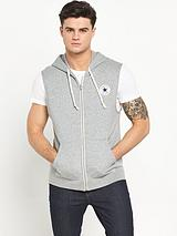 Chuck Patch Sleeveless Mens Hoodie