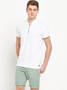 jack-jones-originals-zippednbsppolo-shirt