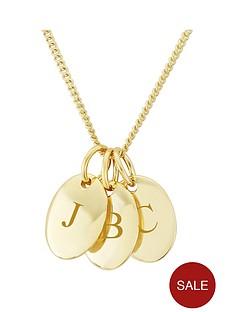 keepsafe-personalised-yellow-rhodium-plated-on-sterling-silver-three-pebble-pendant