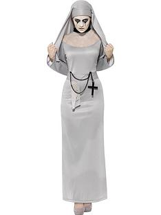 gothic-nun-costume-grey-with-dress-and-headpiece