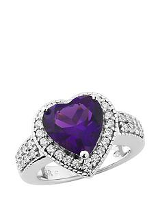 love-cocktails-purple-rain-platinum-plated-sterling-silver-created-amethyst-and-cubic-zirconia-heart-shapednbspring
