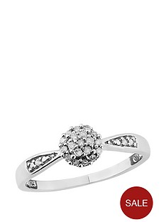 diamond-chic-sterling-silver-10-point-diamond-cluster-ring