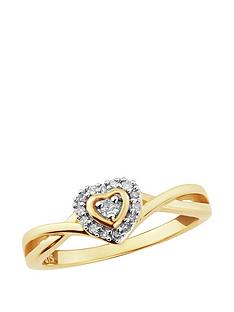 diamond-chic-gold-plated-sterling-silver-11-point-diamond-heart-ring