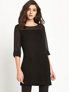 v-by-very-jersey-woven-tunic