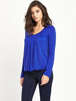 v-by-very-long-sleeved-pleat-front-jersey-top