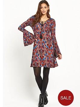 v-by-very-petite-lace-up-front-boho-jersey-dress