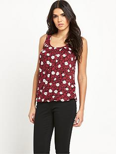 v-by-very-fold-centre-floral-vest-top