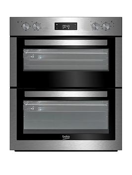beko-btf26300x-built-under-electric-double-oven-with-optional-connection-stainless-steel