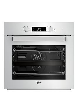 Beko   Bif22300W Built-In Electric Single Oven - White - Cooker Only