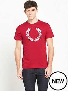 fred-perry-fred-perry-laurel-wreath-t-shirt