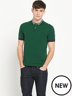 fred-perry-bomber-stripe-collarnbsppolo-shirt