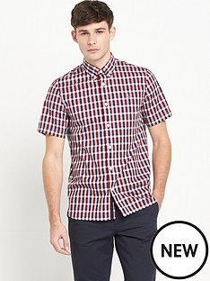 fred-perry-check-mens-shirt