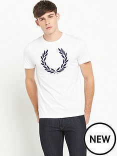 fred-perry-laurel-wreath-mens-t-shirt