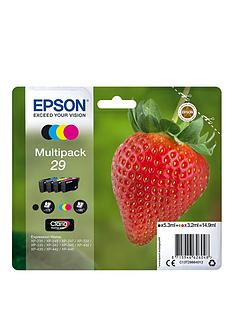 epson-29-claria-home-strawberry-ink-multipack-black-cyan-magenta-yellow-ink