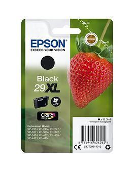 Epson 29Xl Claria Home Strawberry Ink Cartridge Black Ink