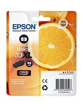 Epson 33Xl Claria Ink Cartridge Oranges Black Premium Photo Premium Ink