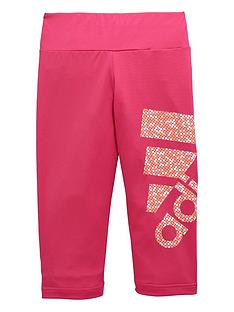 adidas-older-girls-logo-capri