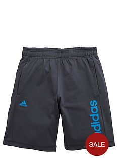 adidas-adidas-older-boys-linear-logo-short