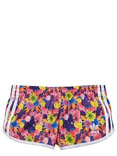 adidas-originals-older-girls-floral-print-shorts
