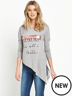 v-by-very-asymmetric-slogan-tunic