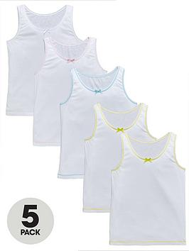 top-class-girls-sleeveless-vests-5-pack