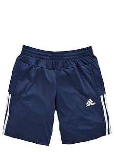 adidas-adidas-older-boys-3-stripe-poly-short