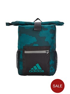 adidas-older-boys-camo-backpack