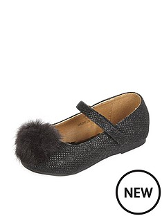 river-island-mini-girls-pomnbsppomnbspballerina-shoes