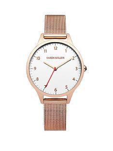 karen-millen-karen-millen-white-dial-gold-tone-stainless-steel-mesh-bracelet-ladies-watch
