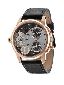 police-diamond-black-chronograph-black-leather-strap-mens-watch