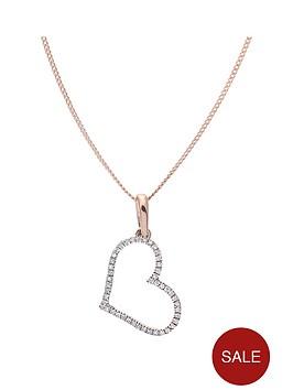 love-diamond-9ct-rose-gold-10-point-diamond-heart-pendant
