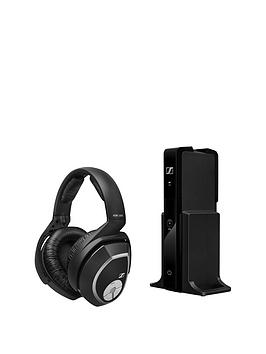 Sennheiser Rs165 Vibrant Sound Compatible With Tv Wireless Bluetooth Headphones  Black