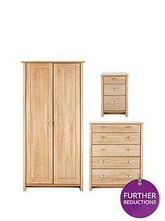consort-tivolinbsp3-piece-ready-assembled-package-wardrobe-5-drawer-chest-and-bedside-cabinet-buy-and-save