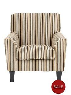 rimininbspstriped-fabric-accent-chair