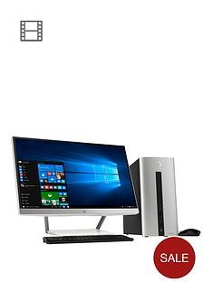 hp-pavilion-550-130na-intelreg-coretrade-i3-processor-8gb-ram-1tb-hard-drive-desktop-bundle-with-23-inch-monitor-and-optional-microsoft-office-365-personal-silver