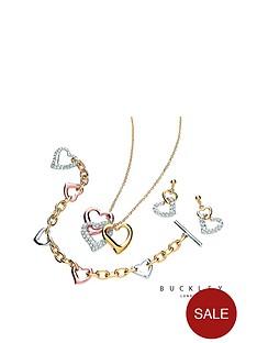 buckley-london-three-colour-crystal-set-heart-pendant-earrings-ampnbspbracelet-set