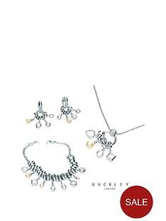buckley-london-crystal-pearl-ampnbspopal-drop-pendant-earrings-ampnbspbracelet-set
