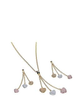 buckley-london-crystal-3-colour-heart-drop-pendant-ampnbspearring-set